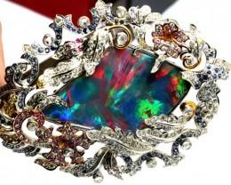 Black Opal & Gemstone Pendants
