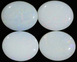 6.43 CTS WHITE FIRE OPAL STONE DEAL [CP6909 ]
