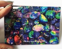 Opal Jig Saw Puzzle black opals AAA