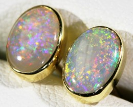 Crystal opal earrings  BU1706