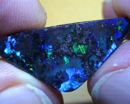 10.30 ct Gem Natural Blue Green Color Queensland Boulder Opal
