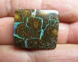 54cts.AUSTRALIAN BOULDER OPAL, FROM OUTBACK AUSSIE;