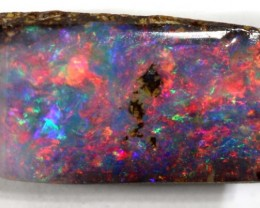 0.70 CTS Natural Australian Boulder Opal Solid Stone C-319