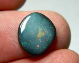 Beautiful Mintabie black opal NR!