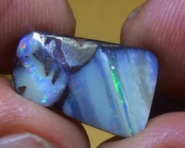 6.50 ct Lovely Multi Color Natural Queensland Boulder Opal