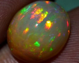 GORGEOUS DARK BASE STICK PUZZLE PEACOCK WELO OPAL 3.70 CRT