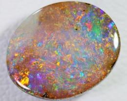 2.38 Cts Nice gemmy oval  Boulder Opal  BU 2026