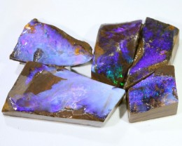 76.1 CTS BLUE  BOULDER OPAL ROUGH  PARCEL - [BY4664 ]