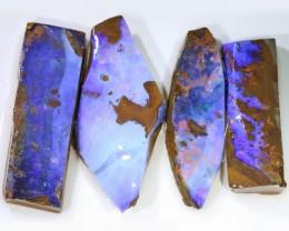 120.65 CTS BLUE  BOULDER OPAL ROUGH  PARCEL - [BY4667 ]