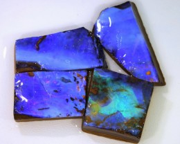 116.40 CTS BLUE  BOULDER OPAL ROUGH  PARCEL - [BY4672 ]