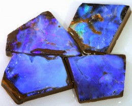 126.55 CTS BLUE  BOULDER OPAL ROUGH  PARCEL - [BY4675 ]