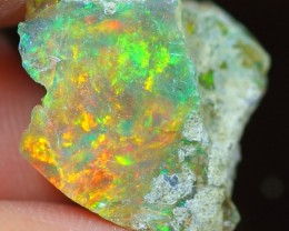 6.94Cts Natural Ethiopian Welo Rough Opal