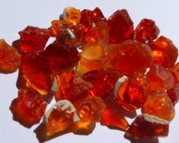 65ct Nice Solid Bright Natural Mexican Fire Opal