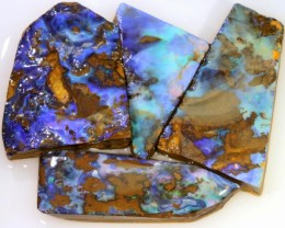 227.70 CTS BLUE  BOULDER OPAL ROUGH  PARCEL - [BY4678 ]