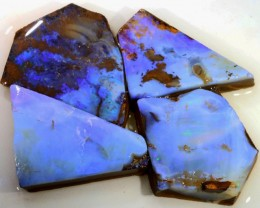 251 CTS BLUE  BOULDER OPAL ROUGH  PARCEL - [BY4679 ]