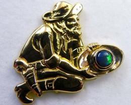 Estate jewellery 18 k gold stamped hallmark 750 TB 22