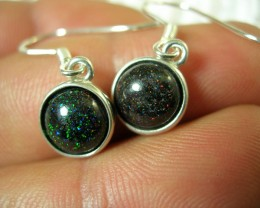 BOULDER MATRIX SILVER EARRING SET LMJ / 95