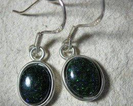 BOULDER MATRIX SILVER EARRING SET LMJ /43