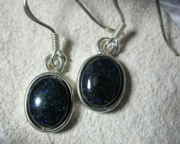 BOULDER MATRIX SILVER EARRING SET LMJ /45