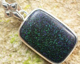 FAIRY OPAL SILVER PENDANT -FACTORY DIRECT 19.50 CTS [SJ1591]