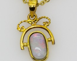 Solid Opal Pendant