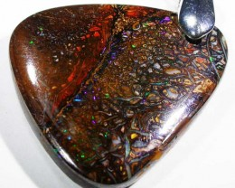 45 CTS BOULDER OPAL  WITH SILVER BAIL  [SJ2974  ]