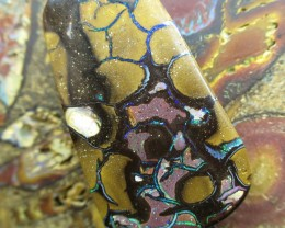 "67cts.""WE MINE"" BOULDER MATRIX OPAL,"