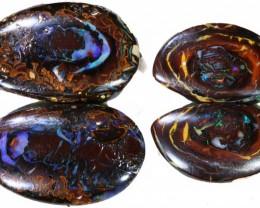 82.50 Cts  Parcel 2 pairs Yowah opal s  BU 2080