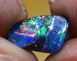 2.35 ct Top Gem Multi Color Natural Queensland Boulder Opal