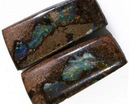 23.10 Cts   Pair Yowah opal s  BU 2090