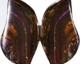 50.95 Cts   Pair Yowah opal s  BU 2103