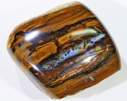98 Cts Boulder Wood Fossil polished  BU 2136