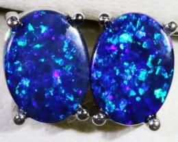 Cute Opal Doublet Earring SB 155