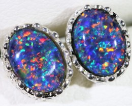Gem Opal Triplet Earring SB 169