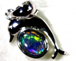 TRIPLET OPAL SILVER PENDANT 4.10 CTS OF-1468