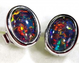 7.65 cts TRIPLET OPAL EARINGS  OF-1477