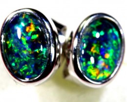 TRIPLET OPAL EARINGS 7.65 CTS OF-1478