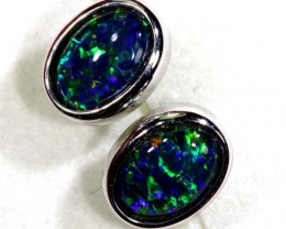 TRIPLET OPAL EARINGS 7.65 CTS OF-1483