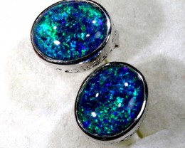 TRIPLET OPAL EARINGS 7.65 CTS OF-1486