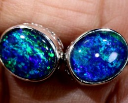 TRIPLET OPAL EARINGS 7.65 CTS OF-1488