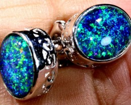 TRIPLET OPAL EARINGS 7.65 CTS OF-1489