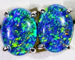 Gem Opal Triplet Earring SB 179