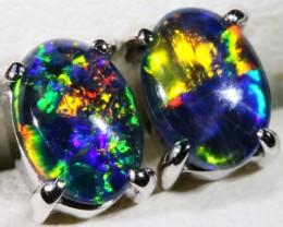 Gem Opal Triplet Earring SB 193