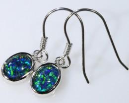 Gem Opal Triplet Earring SB 196