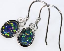 Gem Opal Triplet Earring SB 200