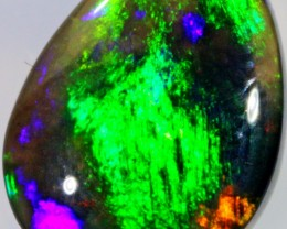 2.5 CTS BLACK CRYSTAL OPAL - LIGHTNING RIDGE- [SO7161]