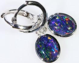 Gem Opal Triplet Earring SB 203