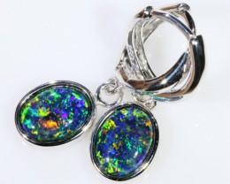 Gem Opal Triplet Earring SB 204