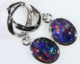 Gem Opal Triplet Earring SB 206