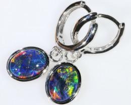 Gem Opal Triplet Earring SB 209